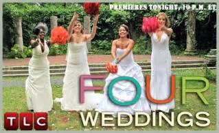 wedding shows on tlc one two three four weddings weddingbee