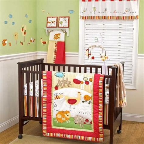 Cheap Crib Bedding Sets Neutral by Farm Animal Nursery Animal Nursery And Farm Animals On