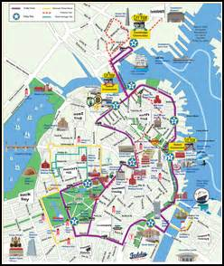 Boston Tram Map by Great Value On Board Cityview Trolley Tours In Boston And