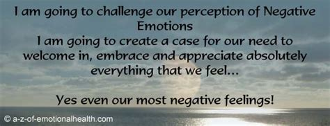Challenge Your Perception Of by Let Me Challenge Your Perception Of Negative Emotions