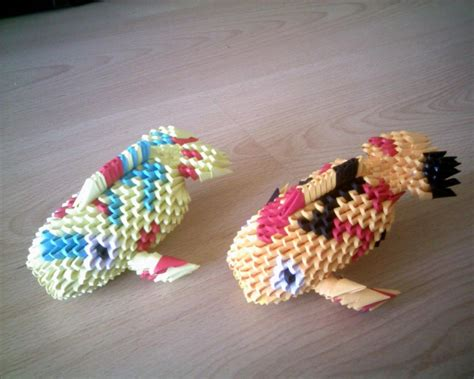 3d Origami Koi Fish - 3d origami koi fish comot