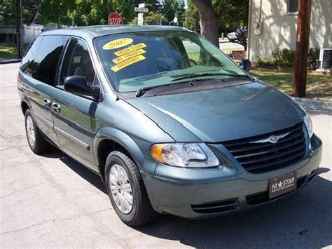 2007 Chrysler Minivan by Green Chrysler Town And Country Used Cars In California