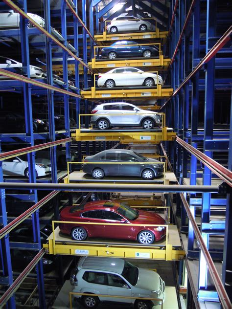 Automated Parking Garage Systems by America Needs More Robotic Parking Park It Here