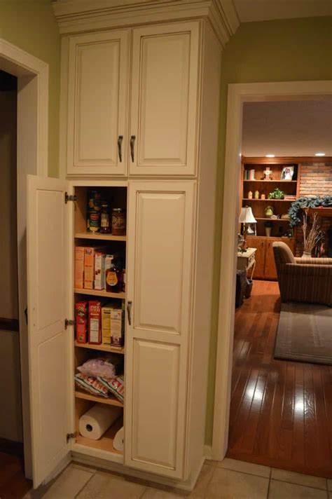 Kitchen Closets And Cabinets Kitchen Pantry Closet A Closet Or Pantry House Design