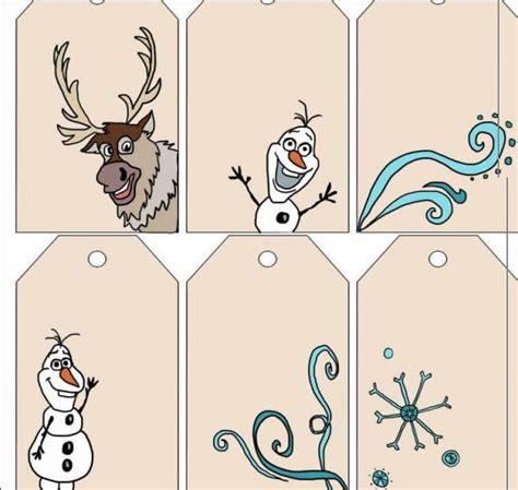 olaf printable gift tags printable frozen christmas gift tags craftbits com