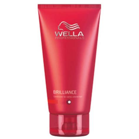 Five Conditioners For Coloured Hair by Wella Professionals Brilliance Conditioner For To