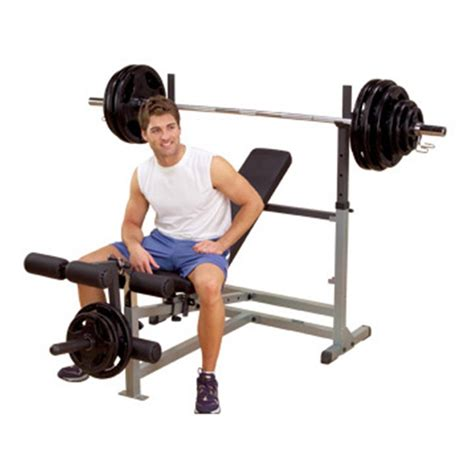 body solid combo bench body solid 174 powercenter combo bench 134918 at sportsman s guide