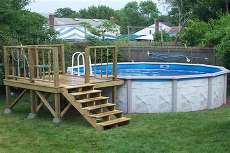 Pool Deck Plans by Woodwork How To Build An Above Ground Pool Deck Pdf Plans