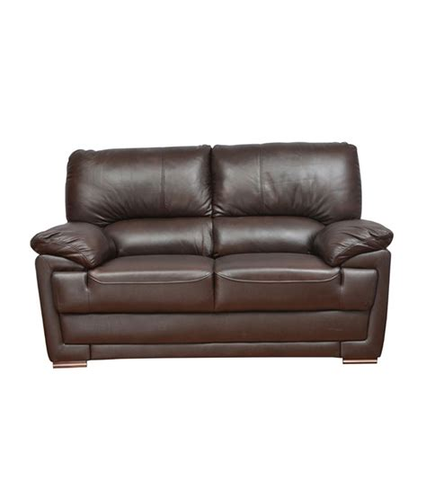 half sofa hometown eva half leather 2 seater sofa buy online at