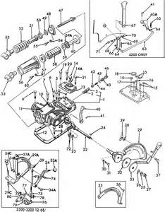 Ford 2000 Tractor Parts Diagram Ford Jubilee Tractor Hydraulic Diagram Tractor Parts And