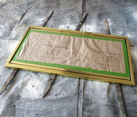 Painting Brass Fireplace Doors by Painting Brass Fireplace Doors For The Home
