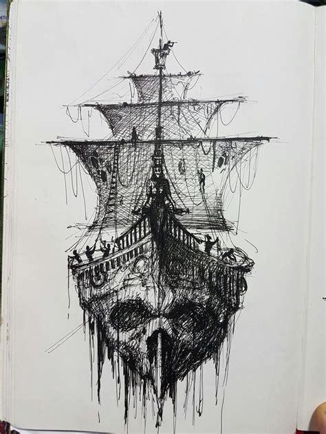 barco de bela dibujo m 225 s de 20 ideas incre 237 bles sobre tatuajes barco pirata en