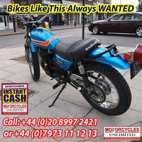 Suzuki Ts 400 For Sale Suzuki Ts400 Apache Classic Suzuki Wanted Motorcycles