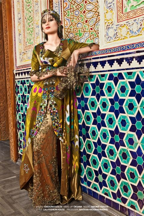 uzbek traditional dress women pin by suzani textiles on fashion ikat suzani pinterest