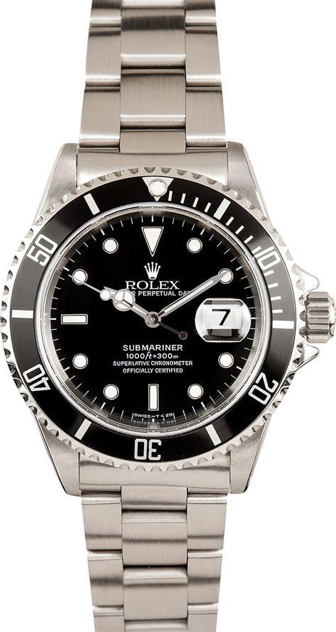 black rolex submariner rolex black 16610