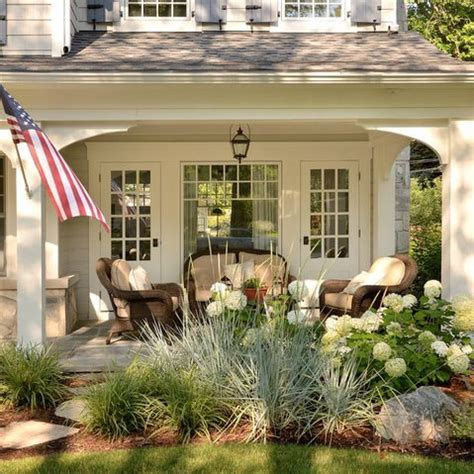 simple covered deck house inspiration pinterest the charming porch inspiration curb appeal pinterest