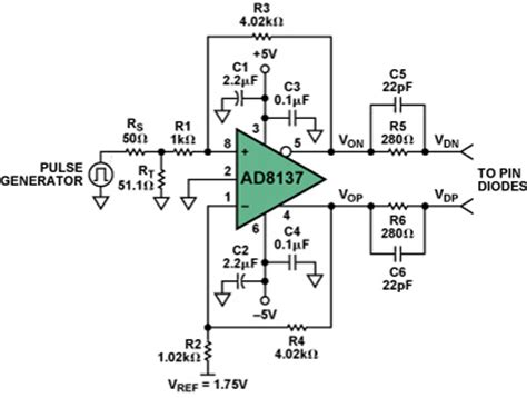 pin diode bias circuit driving pin diodes the op alternative analog devices