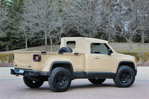 new jeep truck concept new jeep commanche pickup truck unveiled