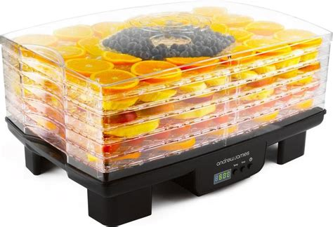 fruit dehydrator andrew 6 tray digital food dehydrator fruit