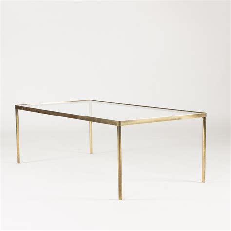Brass Glass Coffee Table Sold Nordlings Antik