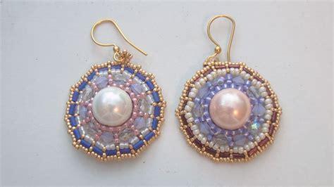 beaded earrings tutorial beadsfriends beaded earrings tutorial how to make the
