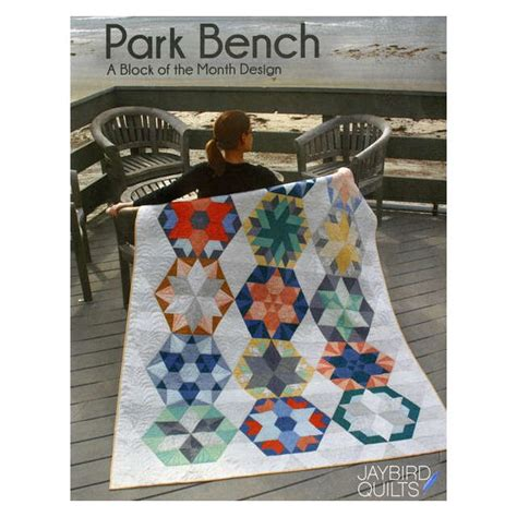 park bench quilt pattern park bench block of the month