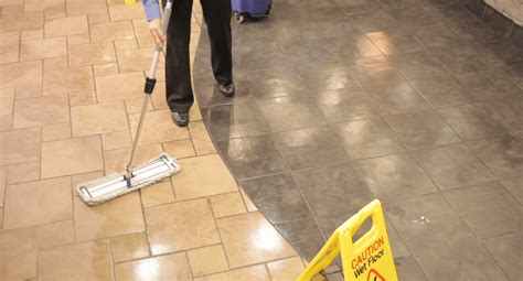 Mopping Wood Floors by Procedures And Tools To Ensure A Safe And Clean Restaurant