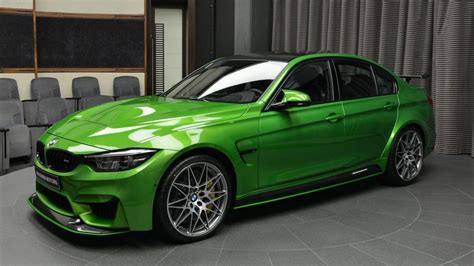 It Or It Bmw M3 In Java Green With M