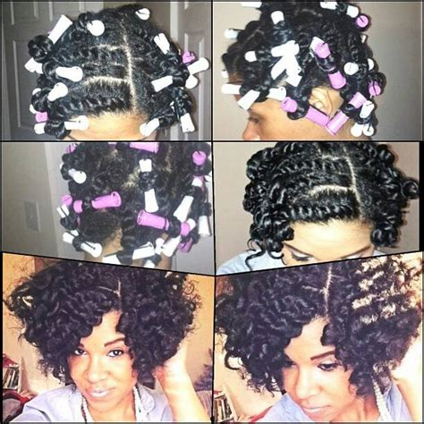 Hairstyles For Hair Twist Out With Perm by Flat Twist Out With Perm Rods Hairstyle For Black