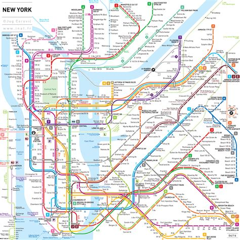 nyc maps subway style map of wdw transportation