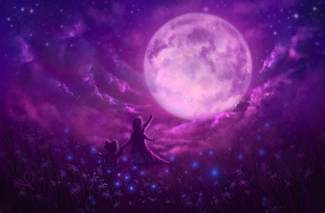 pink moon pink moon teddy bear artwork hd artist 4k wallpapers