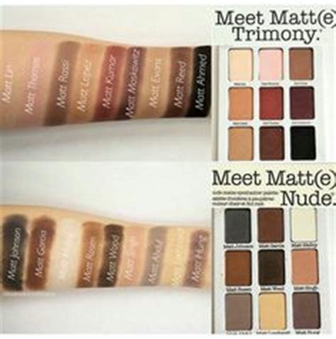 The Balm Meet Matte Trimony Palette Original 1000 images about eyeshadow palettes on