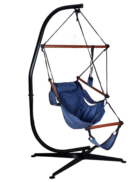 hammock swing chair frame hammock c frame stand solid steel construction for hanging