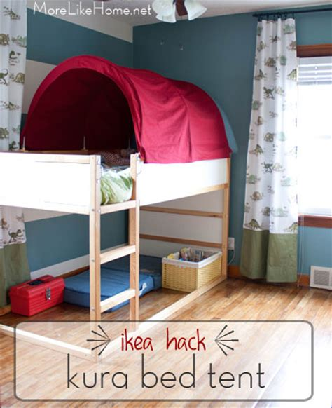 Ikea Bunk Bed Tent More Like Home Ikea Hack Kura Bed Tent Makeover Lyla Bedroom Ideas Kura Bed