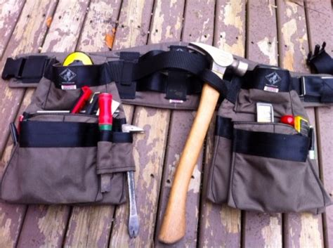 Handmade Tool Belt - handmade back tool belts mrb contracting