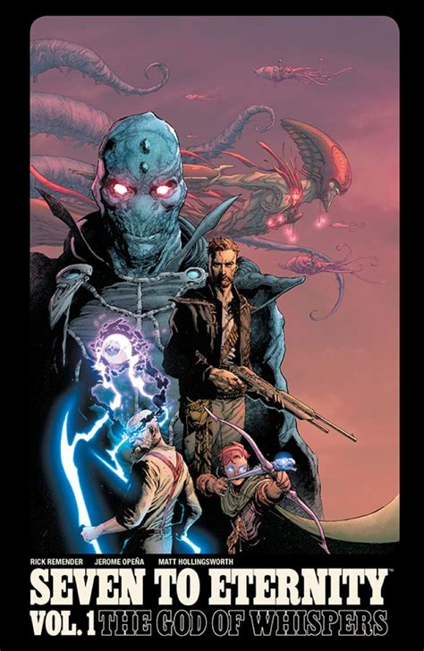 libro seven to eternity volume the interview future quest and 9 more february graphic