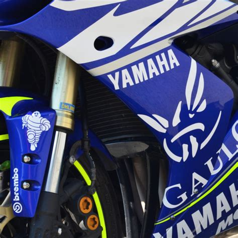Yamaha M1 Aufkleber by 4moto Shop Yamaha R1 Dekor Aufkleber Sticker Decal