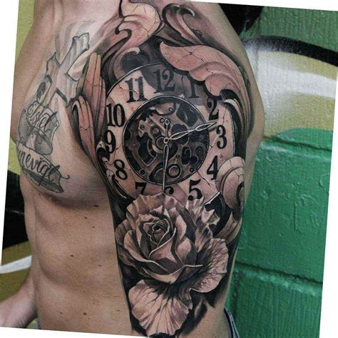 clock tattoo design 38 designs ideas design trends premium