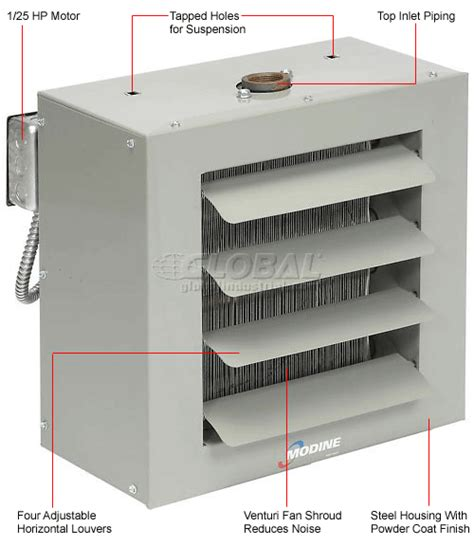 modine heater fan not coming on heaters unit steam water modine steam or