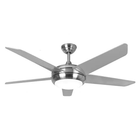 Fantasia Ceiling Fan Lights Fantasia 114123 52in Neptune Brushed Nickel Ceiling Fan With Light