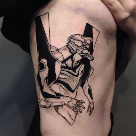 evangelion tattoo 10 best images on evangelion