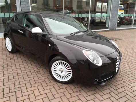 alfa romeo mito alloys 2015 alfa romeo mito twinair junior etna black with