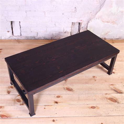 Industrial Style Coffee Table Sleek Steel Industrial Style Coffee Table By Cosywood Notonthehighstreet