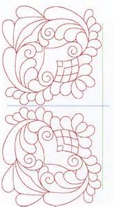 embroidery outline quilting design free embroidery patterns