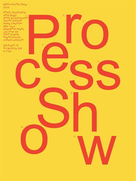 mdes thesis process show school  art art history