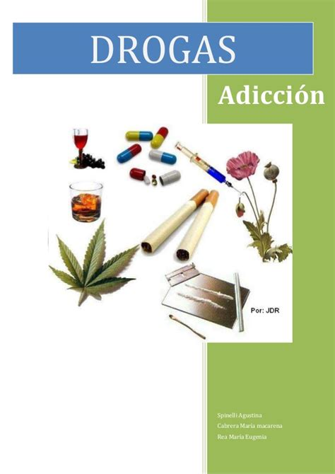 las drogas en la 8417067329 monografia sobre drogas