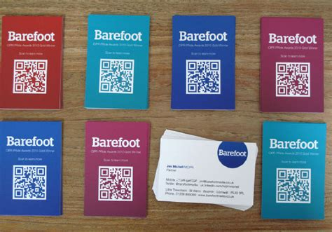 Moo Gift Card Code - the moo blog qr codes and microsoft tags on your moo cards