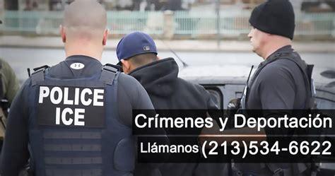 Record Criminal En Estados Unidos Abogados De Defensa De Deportaci 243 N Por Cr 237 Menes En Los