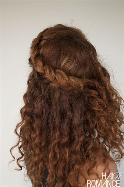 curly hairstyles updos braids curly hair tutorial the half up braid hairstyle hair