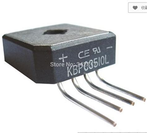 diode bridge packages br3510l high current bridge diode rectifier 35a 1000v for voltage regulator 10pcs in rectifiers